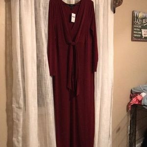 2X Long Sleeve Knit Dress from Forever 21